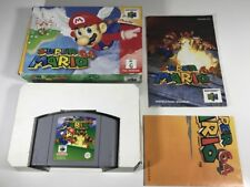 SUPER MARIO 64 BOXED COMPLETE AUS PAL N64 NINTENDO 64 - VERY GOOD CONDITION