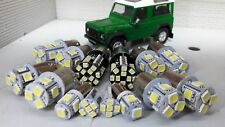 Land Rover Defender TDI V8 LED EXTERNA Bombilla Kit (NO faros) Xenón Blanco