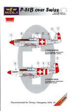 LF Models 1/72 NORTH AMERICAN P-51B MUSTANG Swiss Air Force Paint Mask Set