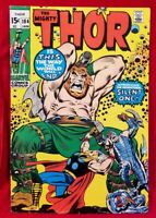 1971 The MIGHTY THOR 184 Marvel Key vtg 1st Silent One App 70s Issue Stan Lee