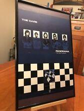"BIG 11X17 FRAMED ORIGINAL THE CARS (RIC OCASEK) ""PANORAMA"" LP ALBUM CD PROMO AD"