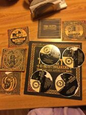 Tom Petty And Heartbreakers Live Anthology 4 Cd Book From Box Set Official Usa