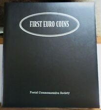 First Euro Coins Set, Postal Commemorative Society, All 12 Countries Panels (Q)