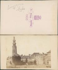 G. Wilh.Bauer, Pays-Bas, Eglise de Middelbourg Vintage CDV albumen carte de visi