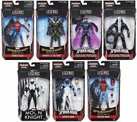 Marvel Legends ~ SPIDER-MAN ACTION FIGURE SERIES 8 SET w/VULTURE WINGS COMPLETE