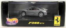 Hot Wheels 1/43 Scale Diecast AA0784HZ - Ferrari F355 GTS - Silver
