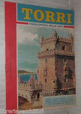 TORRI ENCICLOPEDIA DELLE ARTI N 9 1962 Supplemento di Intrepido Storia Edifici