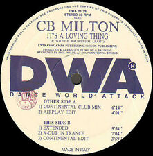 CB MILTON - It's A Loving Thing - DWA (Dance World Attack)