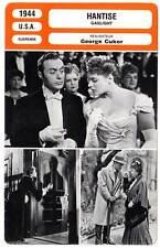 FICHE CINEMA : HANTISE - Boyer,Bergman,Cotten,Cukor 1944 Gaslight