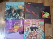 Jimi Hendrix Lot of 5 LPs owned by Eddie Kramer Mint SS