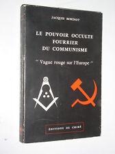 J. BORDIOT - LE POUVOIR OCCULTE FOURRIER DU COMMUNISME