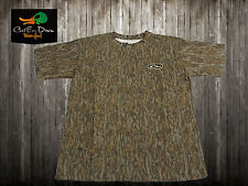 DRAKE WATERFOWL CAMOUFLAGE T-SHIRT SS SHORT SLEEVE BOTTOMLANDS CAMO 2XL