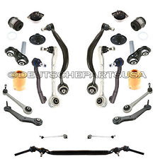 FRONT + REAR CONTROL ARMS TIE RODS MOTOR STRUT MOUNTS SUSPENSION KIT for BMW E38