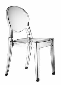 IGLOO CHAIR DESIGN STUHL acryl ghost lounge durchsichtig transparent plexiglas