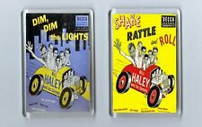 Magnets x 2 : BILL HALEY and his COMETS Shake Rattle /Dim Dim... Rock 'n' Roll
