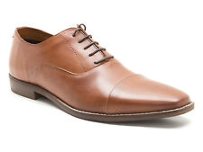 Red Tape Stanton Tan Men's Leather Formal Shoes RRP £65 !