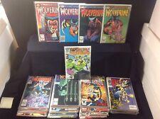 Wolverine Lot #1-4 Mini Series, #1-100, Reprint Hulk 181 (1st App.)!!
