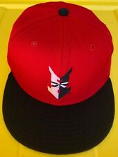 Vintage 90s Indianapolis Indians New Era Pro Model 100% Wool Hat Cap USA Made