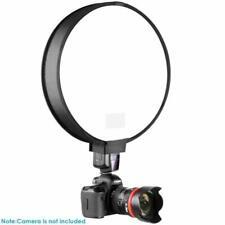 "Shooting Flash Diffuser 12"" 30cm Portable Round Photo Studio Soft Box Studio"