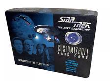 Star Trek the next generation customizable card game