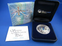 2009 $1 1OZ SILVER PROOF COIN - AUST ANTARTIC TERRITORY - SOUTH MAGNETIC POLE