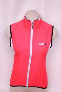 New Louis Garneau Women's Nova Vest Cycling Bike Pink XL Coral