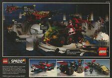 X7428 LEGO Spazio - Trasporto prigionieri - Pubblicità del 1990 - Vintage advert