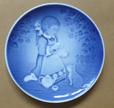 BING & GRONDAHL Children's Day Plate - The Magical Tea Party
