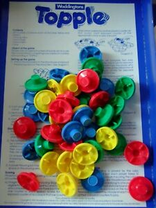 """Waddingtons """" Topple """" spare playing pieces. Buy 1 or more."""