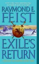 Exile's Return (Conclave of Shadows, Book 3) Feist, Raymond E. Mass Market Paper
