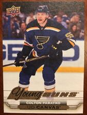 2015-16 UD Hockey Series 1 Canvas Young Guns #C93 Colton Parayko