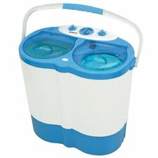 Portable Twin Tub Washing Machine Caravan Motorhome Boat Student