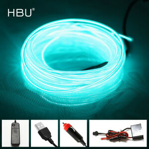Neon Wire Colorful LED Light Room, Party, Wedding, Car Decor (RGB 3V Waterproof)