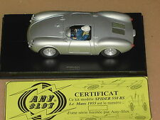 Porsche 550 RS SPYDER ANYSLOT Ninco 1:32 RAR LIMITED