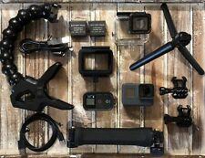 GoPro HERO5 Black Camera HD 4K CHDHX-501 Hero 5 + SuperSuit+3-Way Arm+Jaws Clamp