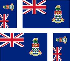 4 x sticker car motorrad suitcase laptop flag islands cayman cai