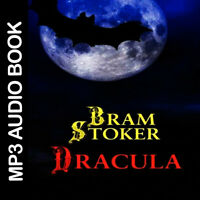 🎧 Dracula by Bram Stoker book, audiobook, audio mp3 horror, fiction.