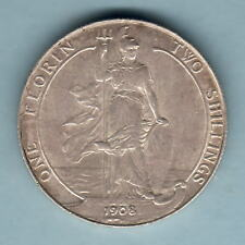 Great Britain.. 1908 Florin..  aEF/EF - Much Lustre
