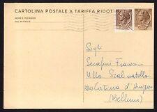 STORIA POSTALE REPUBBLICA 1971 Intero Postale 20L da Bologna per Cortina A.(NT7)