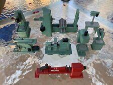 Vintage Miniature Machine Shop Equipment Handmade & Sales Sample Lathes Milling