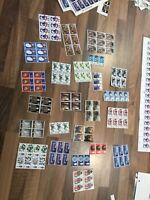 GB QEII Mint Pre Decimal Blocks MNH 24 blocks #z1