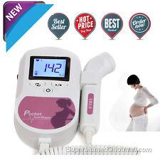 Fetal Doppler bebé latido voz El embarazo Monitor cardíaco Prenatal CONTEC
