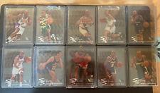 1995-96 Fleer Metal Slick Silver FULL SET w/ Michael Jordan 10 Cards Complete