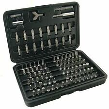 QUALITY 100 PIECE SECURITY SCREWDRIVER BIT SET TAMPER PROOF TORX TAMPER HEX