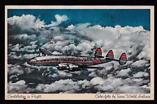 Trans World Airlines postcard
