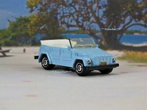 1968 - 1974 VW Volkswagen Type 181 Thing Blue Collectible Diecast Model Car  A1