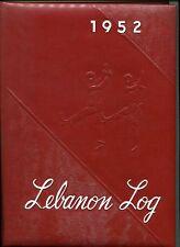 1952 Lebanon Log - Mt Lebanon (PA) High School Yearbook