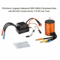 Brushless Motor ESC Kit For 1/10 RC Traxxas Rustler Bigfoot 4tec Slash Stampede
