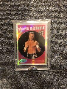 2007 eTopps e Topps WWE SHAWN MICHAELS CARD CHROME REFRACTOR LIKE 755/999