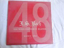 J.S. BACH: DAS WOHLTEMPERIRTE KLAVIER - Maurice Cole Pianoforte  Volume 2